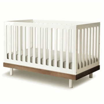 Oeuf Classic Collection Crib in Walnut