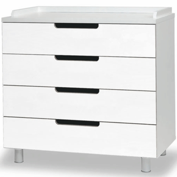 Oeuf Classic Collection 4 Drawer Dresser in White