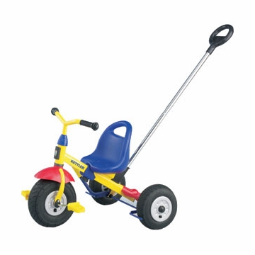 Kettler Air Happy Tricycle with Push Bar