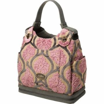 Petunia Pickle Bottom Society Satchel in Berry Chiffon Cake