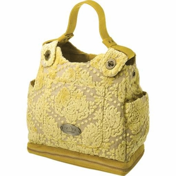 Petunia Pickle Bottom Society Satchel in Buttercream Cake