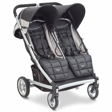 Valco Zee for 2 Double Stroller - Jet Black