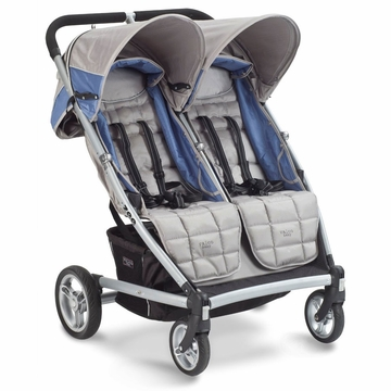 Valco Zee for 2 Double Stroller - Saphire