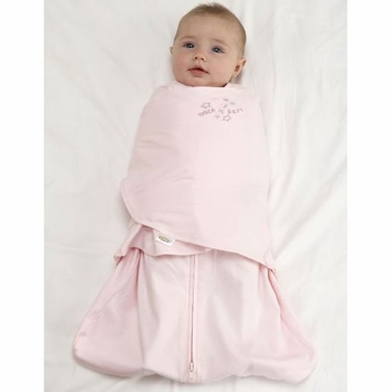 Halo 100% Cotton SleepSack Swaddle - Soft Pink - Newborn