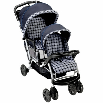 Evenflo Take Me Too Tandem Stroller in Check