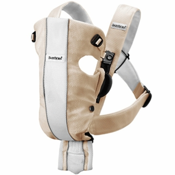 BabyBj�rn Original Baby Carrier in Sand White Mesh