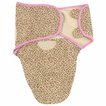 Summer Infant SwaddleMe Cotton Animal Print- Girl - Small/Medium Girl
