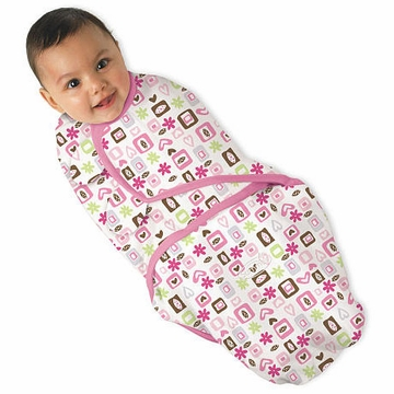 Summer Infant SwaddleMe - Flower Love - Small/Medium