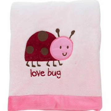 "Carter's Super Soft ""Love Bug"" Blanket"