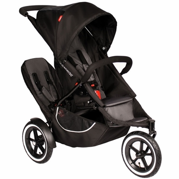 Phil & Teds Classic v2 Buggy with Double Kit - Black