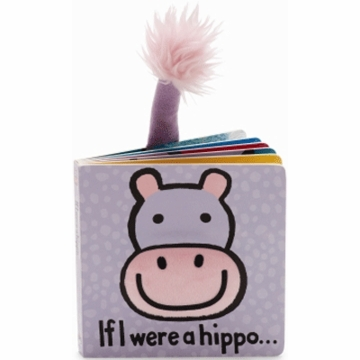 "Jellycat 6"" If I Were a Hippo Book"