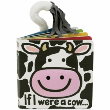 "Jellycat 6"" If I Were A Cow Book"