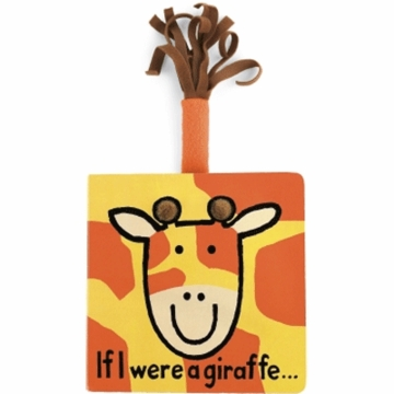 "Jellycat 6"" If I Were A Giraffe Book"
