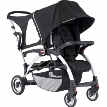 Joovy Ergo Caboose Deluxe Fleece Package in Black