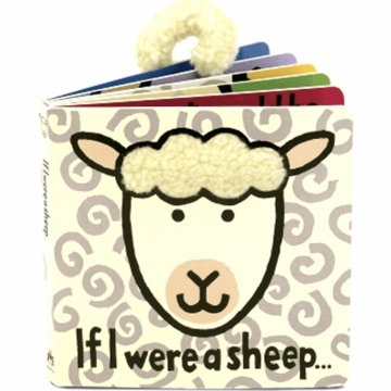 "Jellycat 6"" If I Were A Sheep Book"