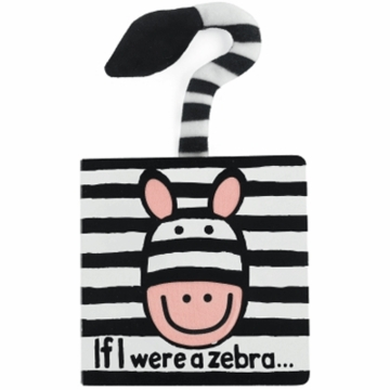 "Jellycat 6"" If I Were A Zebra Book"