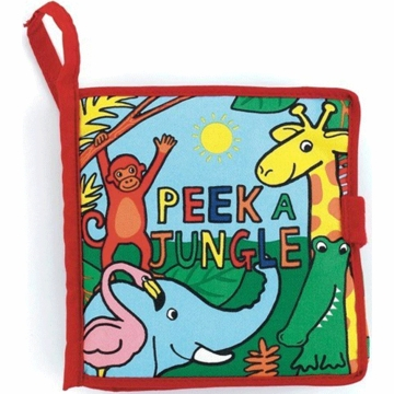 "Jellycat 7"" Peek a Jungle Book"