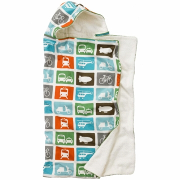 DwellStudio Hooded Towel in Transportation