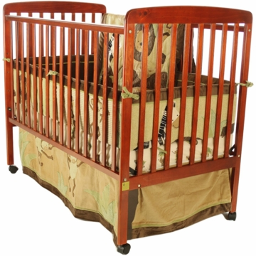 Dream On Me Bethany 2 in 1 Crib - Cherry