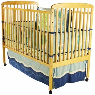 Dream On Me Bethany 2 in 1 Crib - Natural