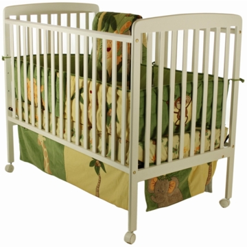 Dream On Me Bethany 2 in 1 Crib - White