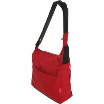 Phil & Teds Diddle Bag with Mini Diddle in Red