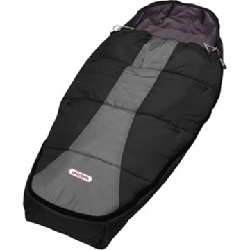 Phil & Teds Snuggle & Snooze Sleeping Bag in Black/Charcoal