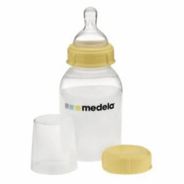 Medela 5 oz Breastmilk Bottle Wide Base Nipple