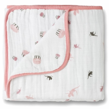 Aden + Anais Dream Blanket - Baby Cakes - Fairies + Cupcakes