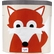 3 Sprouts Storage Bin in Fox Orange