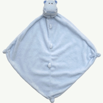 Angel Dear Blue Hippo Blankie