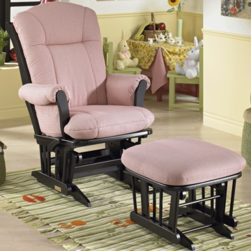 Dutailier 918101 Multiposition Glider with Comfort Plus Cushion