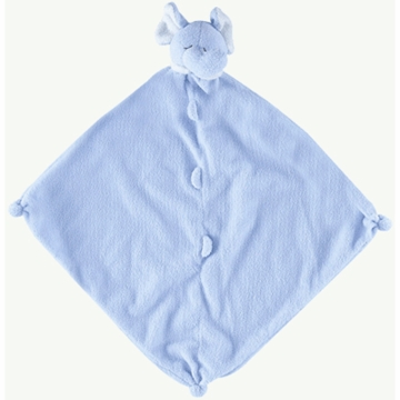 Angel Dear Cuddle Twins Blue Elephant Blankies- Set of 2