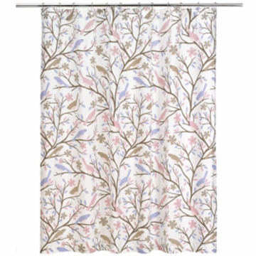 DwellStudio Sparrow Lilac Shower Curtain