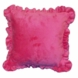 Bananafish Raspberry Truffle Decorative Pillow