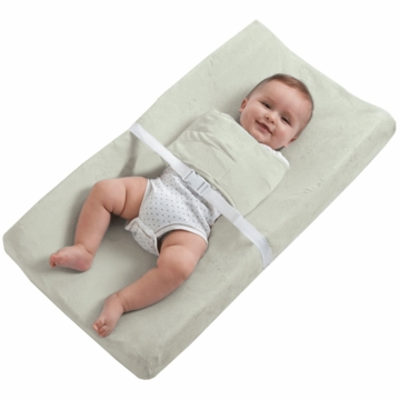 Halo SwaddleChange Changing Pad Cover in Sage