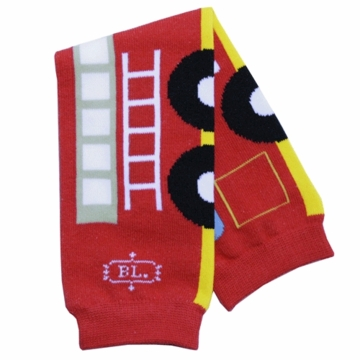 BabyLegs Fire Engine Legwarmers