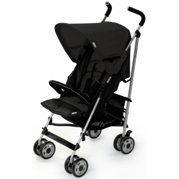 Hauck Turbo Deluxe Stroller in Black