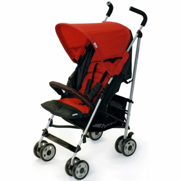 Hauck Turbo Deluxe Stroller in Red