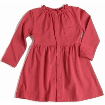 EGG Organic Cotton Dress in Cherry - 6 to 12 Months
