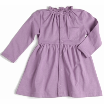 EGG Organic Cotton Dress in Mauve - 3 to 6 Months