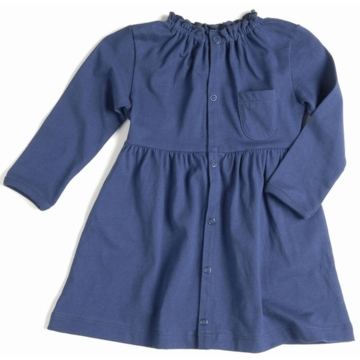EGG Organic Cotton Dress in Navy - 6 to 12 Months