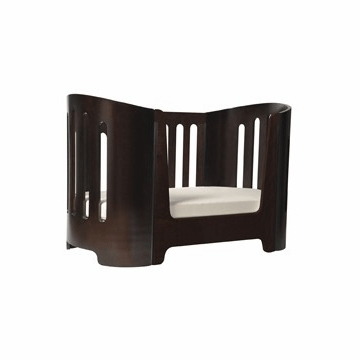 Bloom Luxo Sleep Bed Toddler Rail in Cappuccino