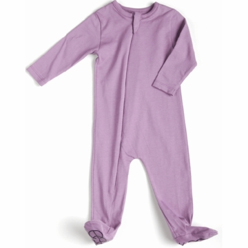 EGG Organic Basic Romper in Mauve - 3 to 6 Months