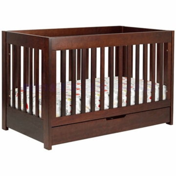 BabyLetto Mercer 3-in-1 Convertible Crib in Espresso