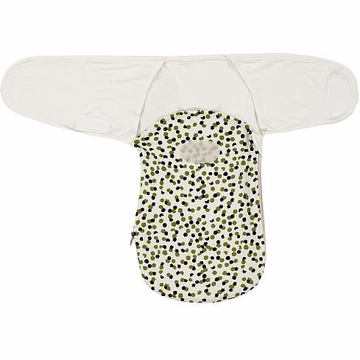 Munchkin Swaddle Angel French Terry Swaddle - Dot