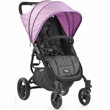 Valco Snap 4 Stroller and Hood - Black/Lilac
