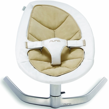 Nuna Leaf Bouncer (Organic Cotton Insert) - Bisque