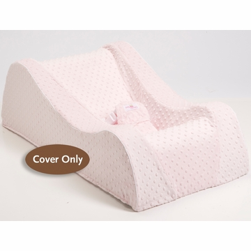 Nap Nanny Chill Cover � Pink Minky Dot