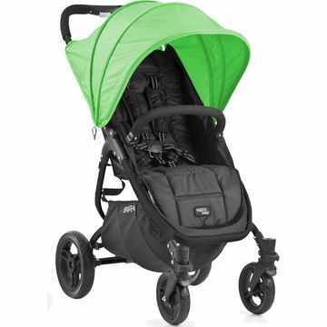 Valco Snap 4 Stroller and Hood - Black/Apple